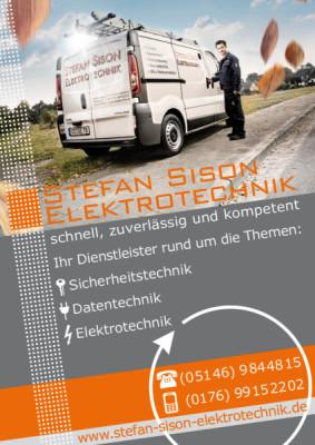 Elektrotechnik, 29323 Wietze, Plakate, Celle, 24h Notdienst, Werbung